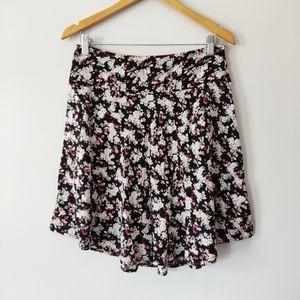 Suzy Shier Floral Skater Skirt Size 9/10